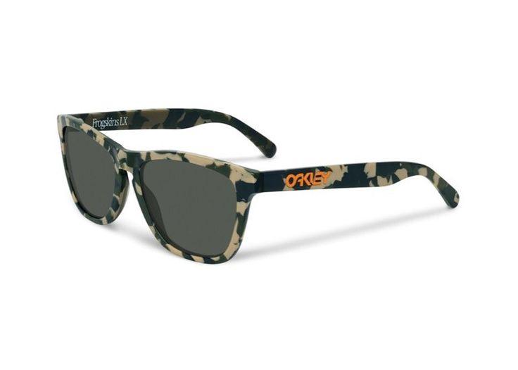 FROGSKIN LX Lifestyle-frame matte camo sunglasses