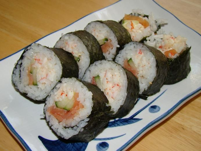 Pacific Rim Sushi Feast: Alaska Roll