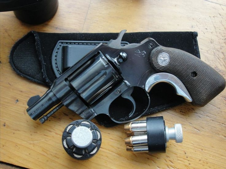 Colt Detective Special Tyler T Grip Concealed Carry