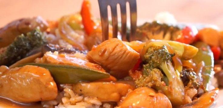 Spicy Chicken Stirfy | Spicy Chicken Stir-Fry