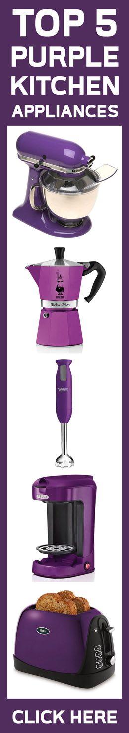 top 5 purple kitchen appliances 2015 - Violet Kitchen 2015
