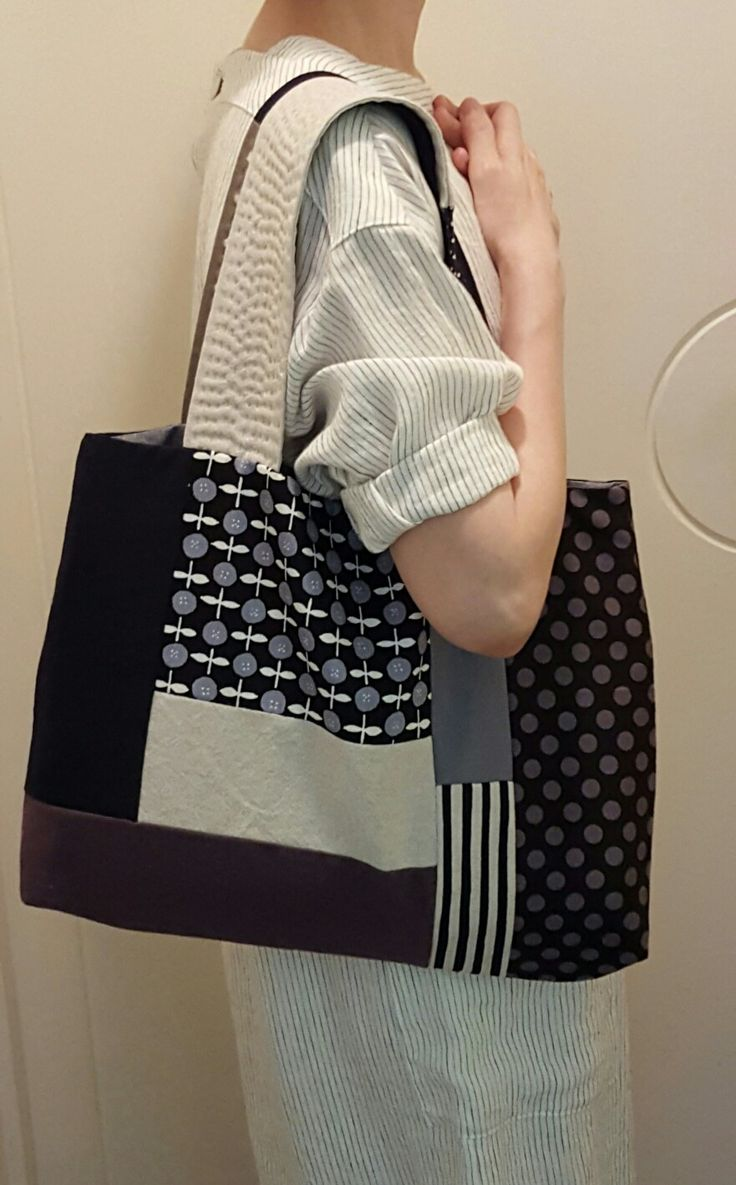 Patchwork tote bag Handmade Handbags & Accessories - http://amzn.to/2ij5DXx                                                                                                                                                                                 More