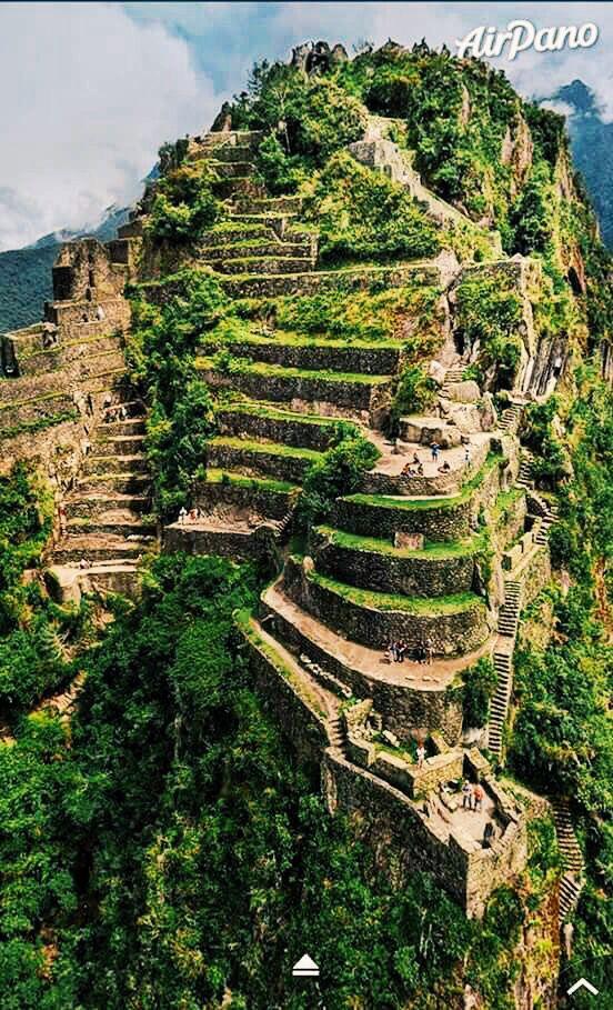 Yo también viajaré a Huayna Picchu, Peru. Es más alto que Machu Picchu. ¡Estuve nervioso!