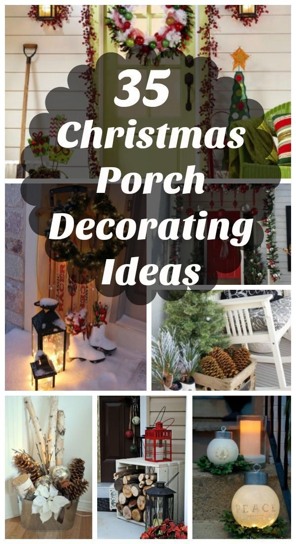 35 Cool Christmas Porch Decorating Ideas All About