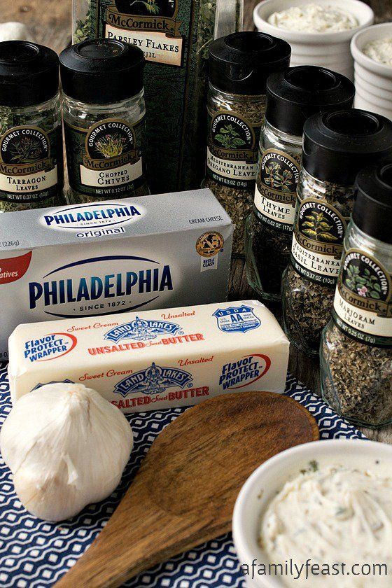 A delicious and easy homemade Boursin Cheese recipe using ingredients you already have in your kitchen!