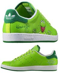 Adidas Kermit the Frog kicks