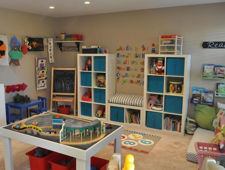 PLAYROOM STORAGE IDEAS | Playroom Storage Ideas That Are Educational and Creative with DIY ...