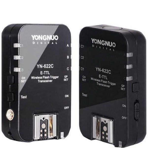 Yongnuo YN-622C E-TTL Wireless HSS 1/8000S Flash Trigger Trigger 2 Transceivers For Canon 1100D 1000
