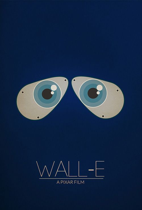 Wall.e  Minimalist poster