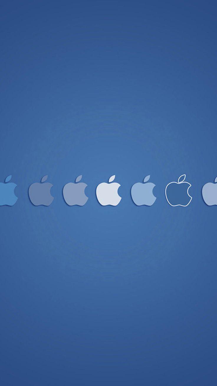 Miniature Apple logo iPhone 6 Wallpapers