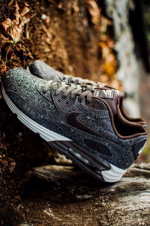 "unstablefragments: "" Nike Air Max Lunar 90 'Suit and Tie' via Run Colors Buy it @Nike UK 