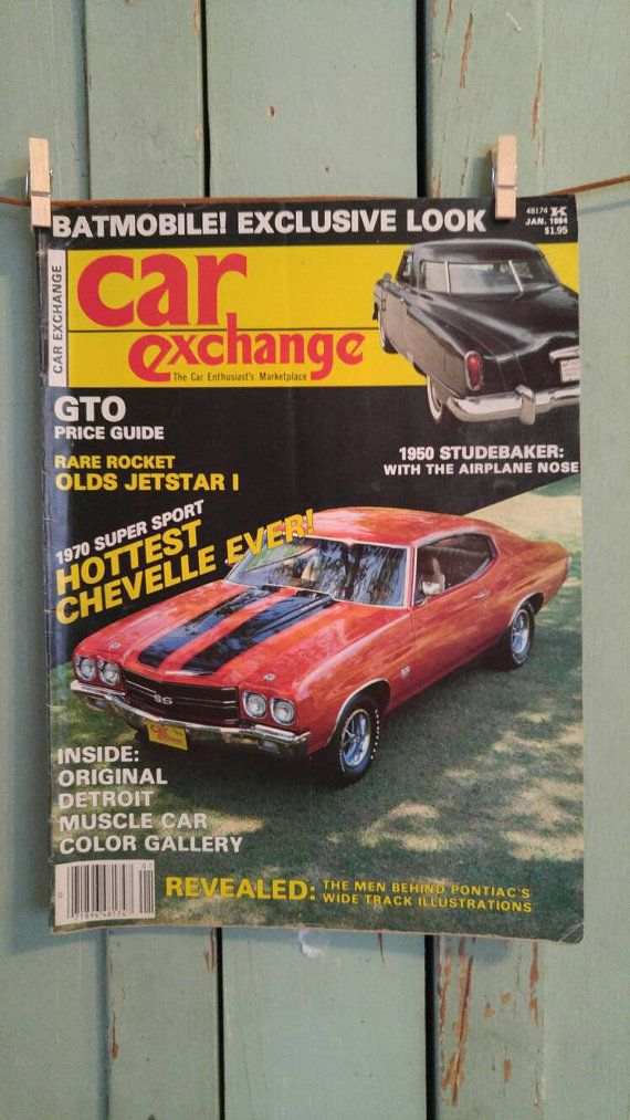 Car Exchange Magazine Oct 1981 1955 Chevy by TheIDconnection ...