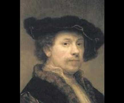 """Rembrandt's Self-Portraits: This """"morphing"""" video is fascinating as we watch the Great Master move through the ages of his life."""