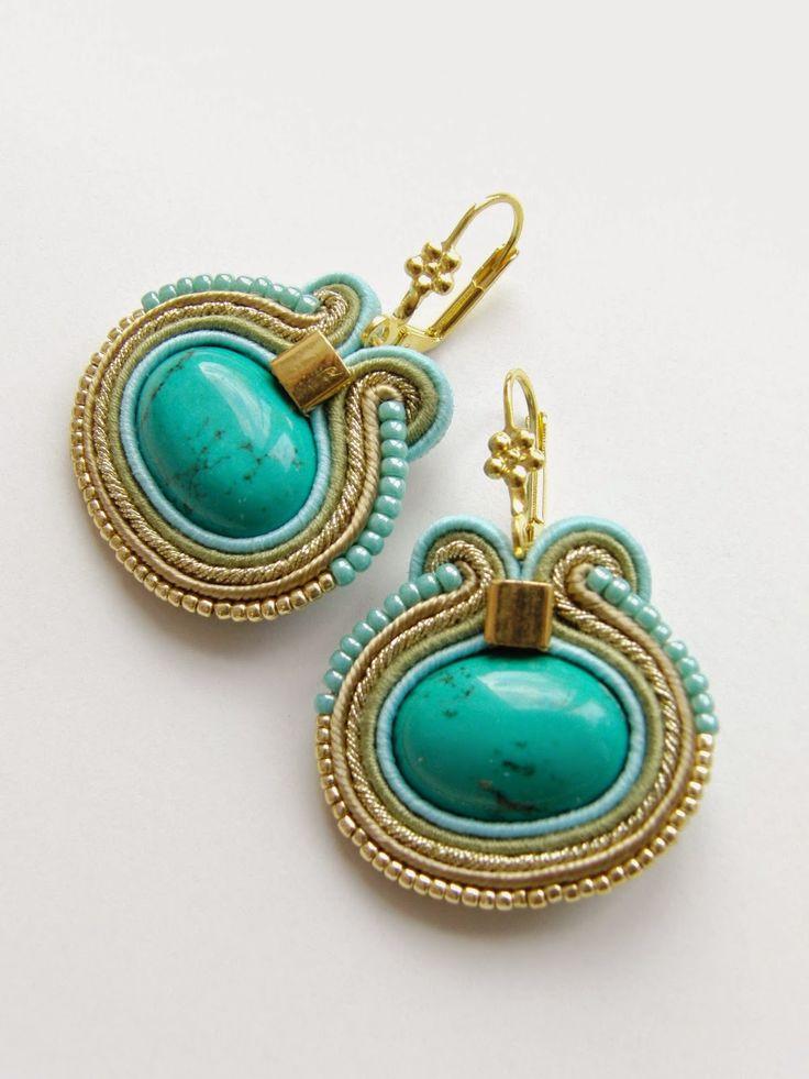 biZSUterie: Soutache earrings