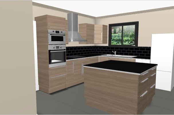 Cuisine Ikea 3d Trick Di 2020