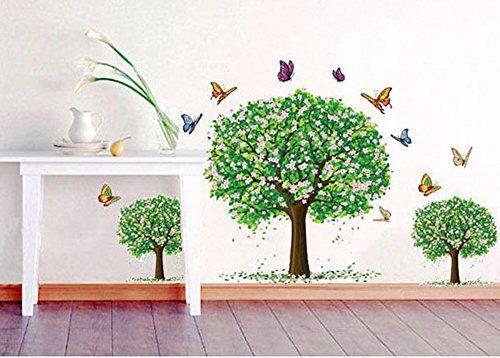 17 migliori idee su decorazione da parete con alberi su - Alberi decorativi da parete ...