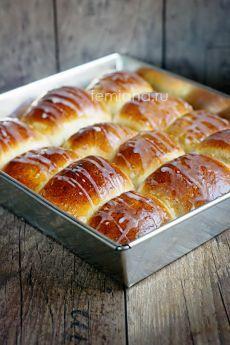 Вкусные ванильные сдобные булочки с повидлом или джемом | FEMIANA