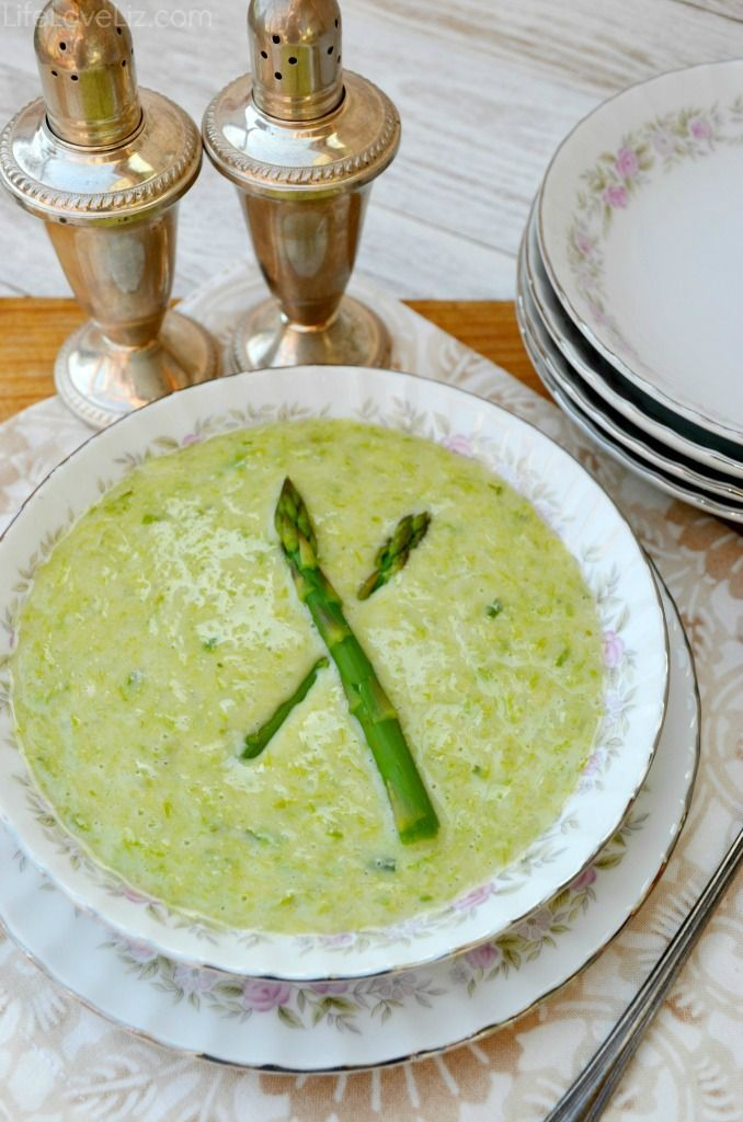 Cream of Asparagus Soup Recipe