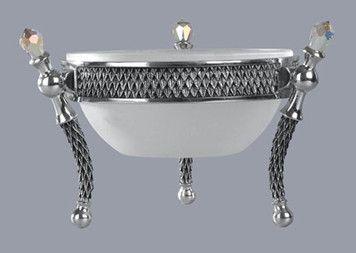 Dish 140mm Crystal Clear - Crystal d'Afrique | GoodiesHub.com