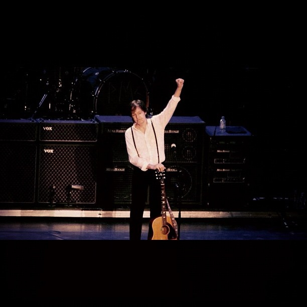 @jilliancue  November 28th Paul concert. #paulmccartney #yeg