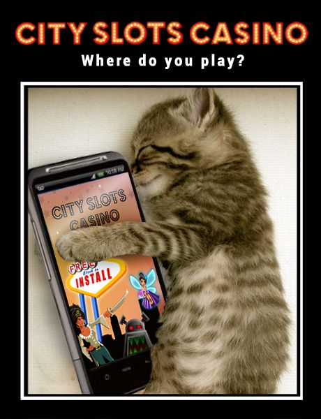 Where do you play City Slots? #android #slots #game
