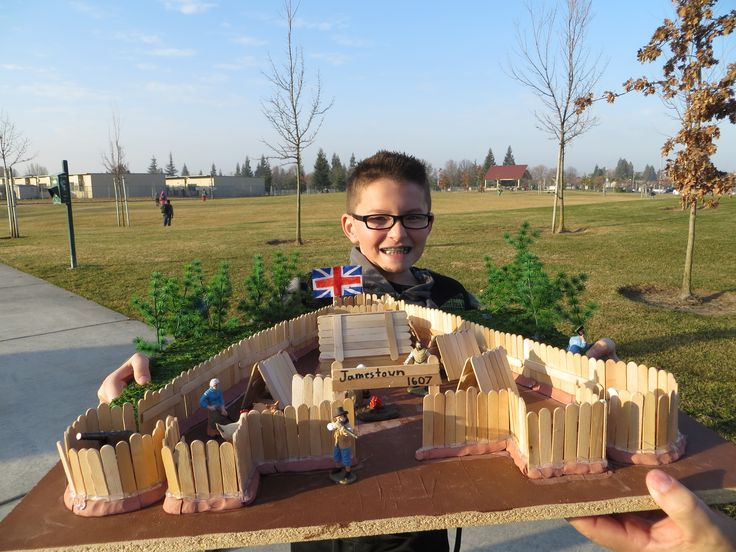 Jamestown model - 5th Grade | Made by me | Pinterest