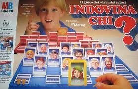 Indovina Chi? (Guess who?) è un gioco da tavolo lanciato negli anni ottanta dall'azienda statunitense MB