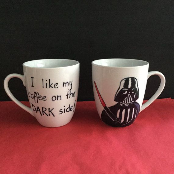Star Wars mug Darth Vader  / Birthday / Xmas by TattooTeaLady