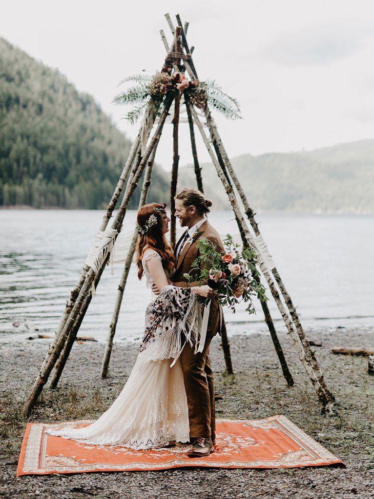 Green Wedding Shoes | Washington Camp Wedding