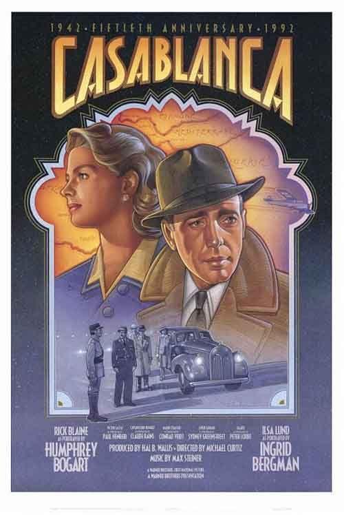 Casablanca posters   Posters de peliculas antiguas