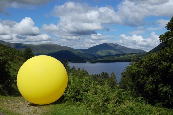 C-Art Cumbria Artist Open Studios 2012 - At the foot of Catbells overlooking Derwent Water