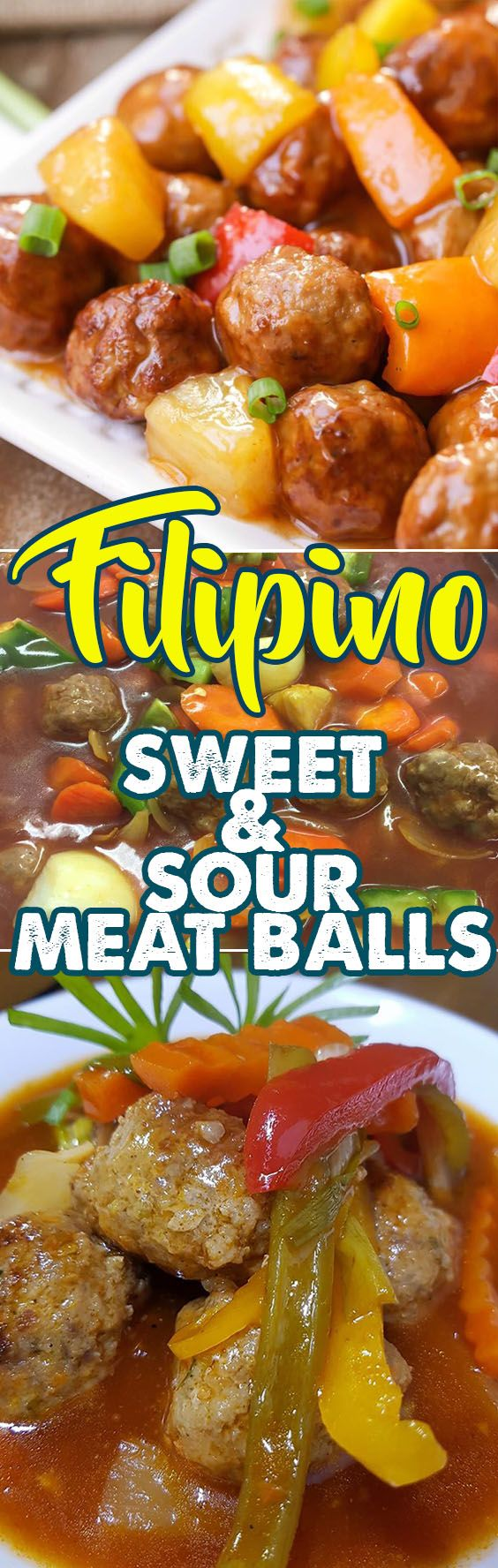 Sweet and Sour Meatballs Recipe might seem a little childish to you but this dish is in no way childish in fact adults love meatballs too especially when the taste is just right and the sauce is perfect. This dish is easy and fun to make and it's also a little messy but that's where the fun lies.