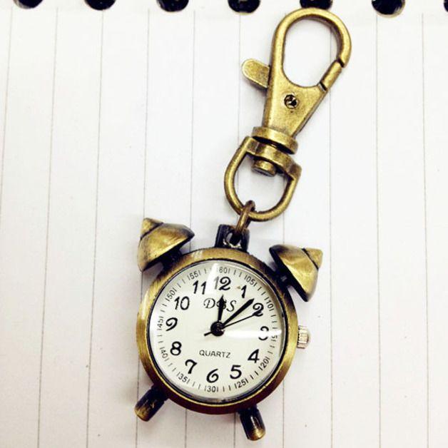 Breloczek z zegarkiem - FashionCorner - Zegarki na łańcuszku
