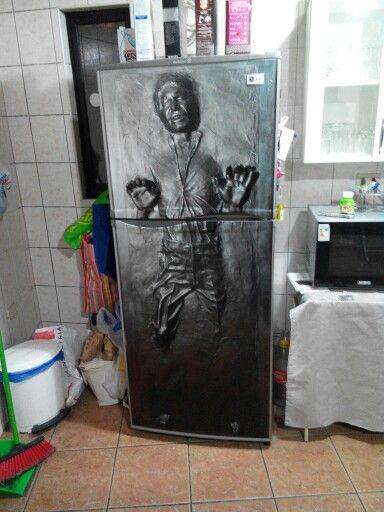 Refrigerador carbonita star wars