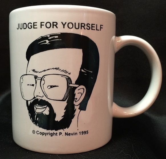 Judge Lance Ito O J Simpson Trial Judge For Yourself Mug Cup P Nevin 1995 #Unknown