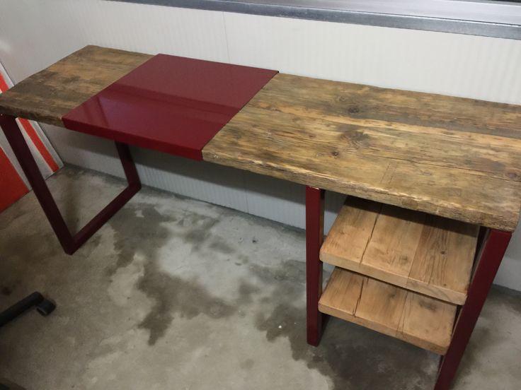 14 best nos meubles de style industriel fabrication artisanale images on pinterest furniture. Black Bedroom Furniture Sets. Home Design Ideas