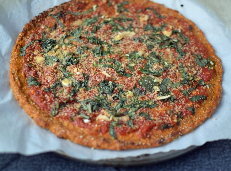 Roasted Garlic Sweet Potato Pizza Crust. Vegan and Gluten Free.  You are missing out if you haven't tried this!!