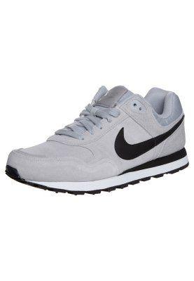 Nike Sportswear MD RUNNER - Sneaker - wolf grey/black/white - Zalando.de