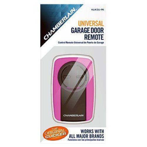 Clicker Pink Universal Garage Door Remote Chamberlain