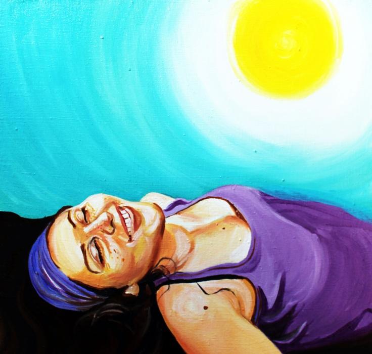 """Isabel"" olio su tela, 60x60, 2012"