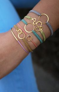 These Bracelets are so classy I cannot believe someone hand made these from home and didn't buy them from a store