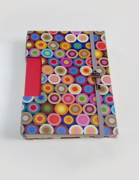 Caderno Colorido A5 - Costura Buttonhole
