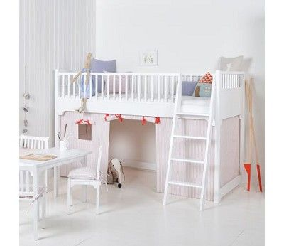 Forheng til seaside-seng, rosa, Oliver Furniture