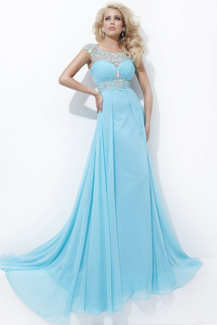 2014 Clearance Prom Dresses Scoop Chiffon Color As Picture Size 6 Ship In 48hours USD 99.99 EPPXNKSMSR - ElleProm.com