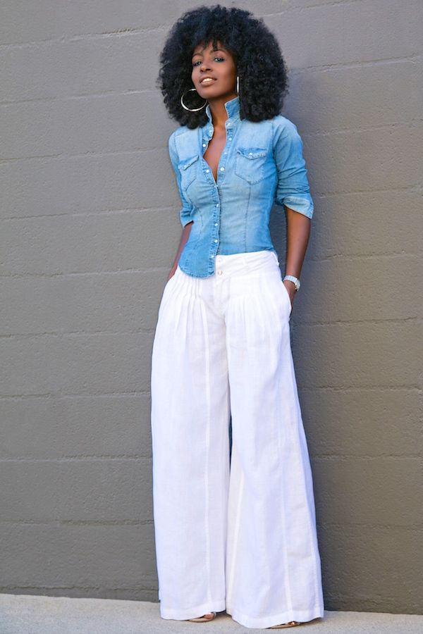 Best 20  Wide leg denim ideas on Pinterest