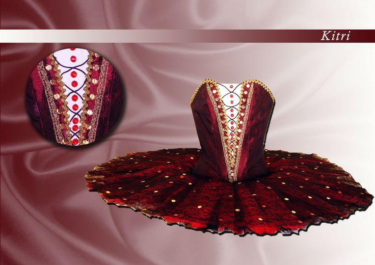 Ballet costume for Kitri