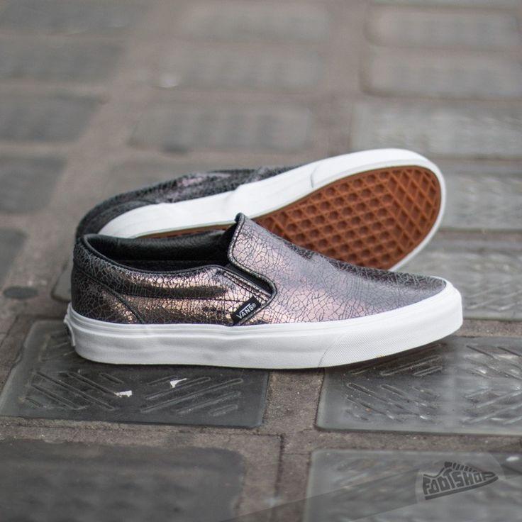Vans Classic Slip-On Cracked Metallic