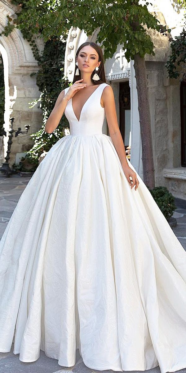 18 Modest Wedding Dresses Of Your Dream ❤ modest wedding dresses ball gown v …