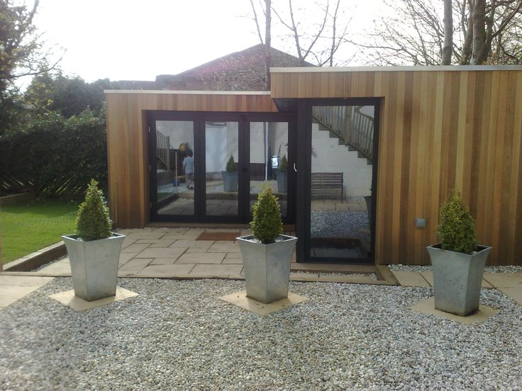 Garden room Glasgow, another view.