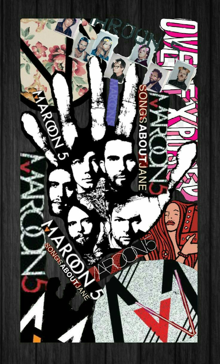 Pin By Mayerly On School Maroon 5 Paw Print Cellphone Wallpaper